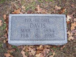 Iva Bethel <i>Davis</i> Davis