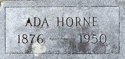Ada Eleanora Brown <i>Horne</i> Huddle