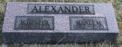 Manly Mark Alexander