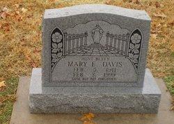 Mary E <i>Mannon</i> Davis