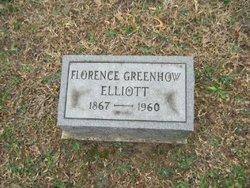 Florence <i>Greenhow</i> Elliott
