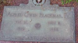 Alfred Owen Blackmar, IV