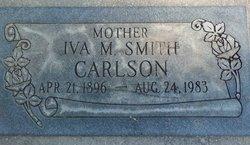 Iva M <i>Smith</i> Carlson