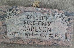 Rose Mary Carlson