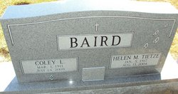 Coley L Baird