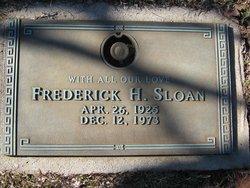 Frederick H Sloan