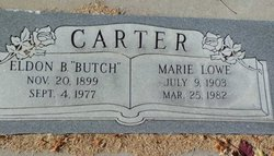 Marie <i>Lowe</i> Carter