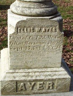Lieut Ellis W. Ayer