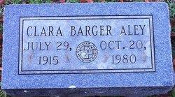 Clara <i>Barger</i> Aley