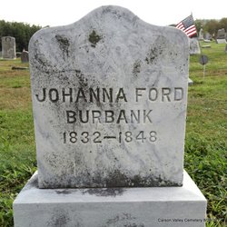 Johanna <i>Ford</i> Burbank