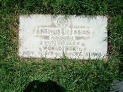 Pvt Arthur C Behn