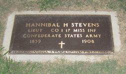 Lieut Hannibal H Stevens