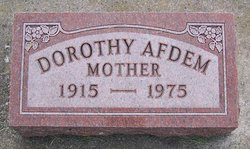 Dorothy Afdem