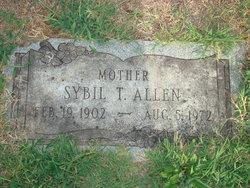 Sybil T Allen
