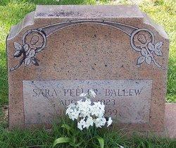 Sarah <i>Peeler</i> Ballew