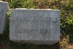 Louisa Rebecca <i>Marshall</i> Kreglo