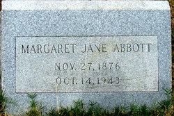 Magaret Jane <i>Bearden</i> Abbott