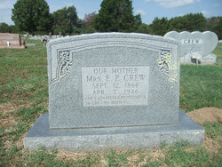 Mrs E. P. Crew