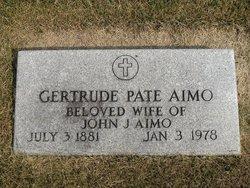 Gertrude <i>Pate</i> Aimo