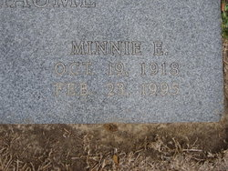 Minnie Evelyn <i>Hutson</i> Anthaume