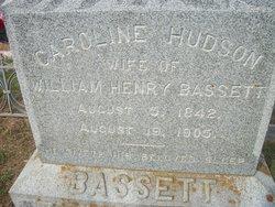 Caroline <i>Hudson</i> Bassett