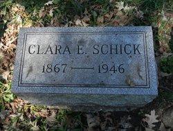 Clara E <i>Bradford</i> Schick