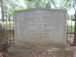 John Lucious Biddix