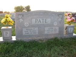 Willie T Pate