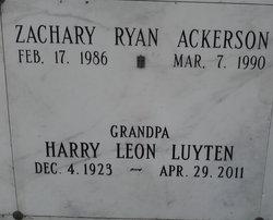 Zachary Ryan Ackerson
