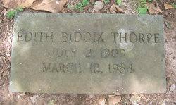 Edith Lamar <i>Biddix</i> Thorpe
