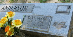 Mary Oveda Anderson