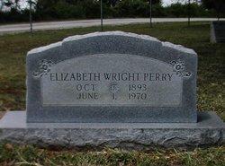 Elizabeth <i>Wright</i> Perry