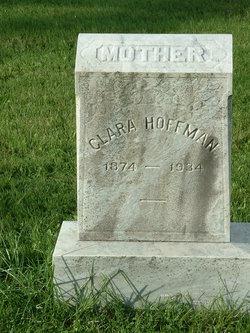 Clara E <i>Danley</i> Hoffman
