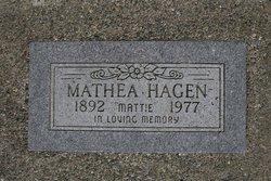 Mathea O Mattie Hagen