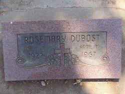 Rosemary Dubost