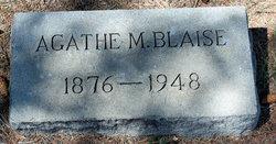 Agathe M Blaise