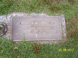 Lorna Kay <i>Alphin</i> Melton