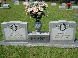 Ruth <i>Majure</i> Evans