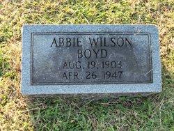 Abbie Rhea <i>Wilson</i> Boyd