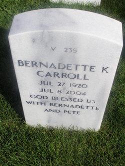 Bernadette K Carroll