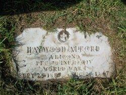 PFC Haywood Alford