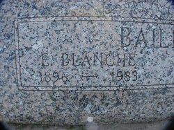 Effie Blanche <i>Taylor</i> Bailey