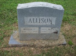 Bell <i>McGaha</i> Allison