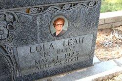 Lola Leah <i>Hahne</i> Ahrens