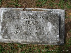 Mable <i>Owens</i> Todd