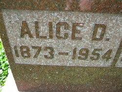 Alice <i>Dean</i> Anderson