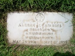 Albert Kenneth Adams