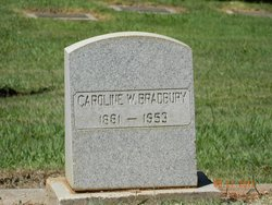 Caroline W Bradbury