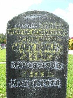 Mary Nancy <i>Holt</i> Rumley