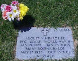 Mary Rosina <i>Lopez</i> Baros